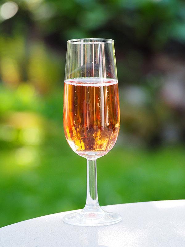Os três aromas são encontrados nos vinhos rosés