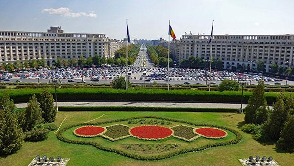 Bucareste é a capital da Romênia