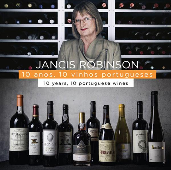Jancis Robinson e seus dez vinhos portugueses