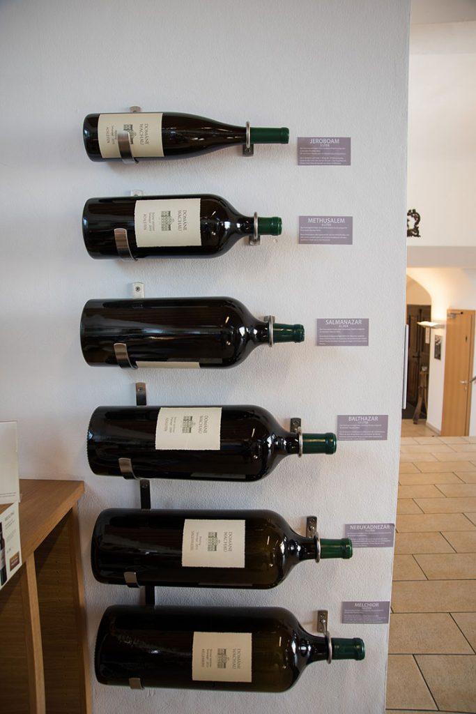 Quanto maior a garrafa de vinho mais valiosa